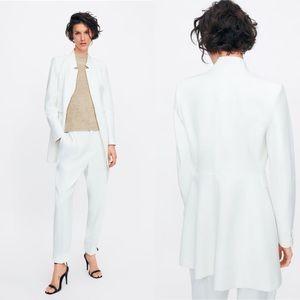 🆕ZARA Inverted Lapel Frock Coat